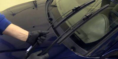 Change windscreen super arms