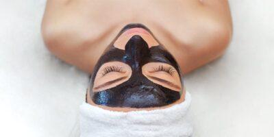 Chocolate face mask