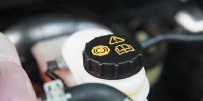 change a car's brake fluid