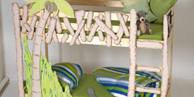 child adventure bed cot