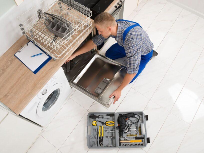 connect dishwasher