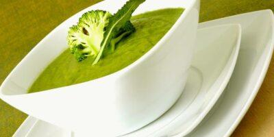 easy cauliflower and broccoli soup
