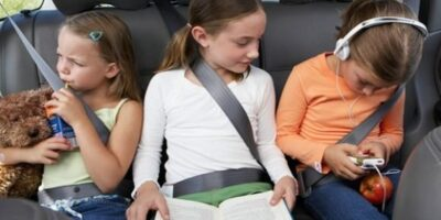 long drive with children