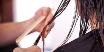 fix split ends in your hair