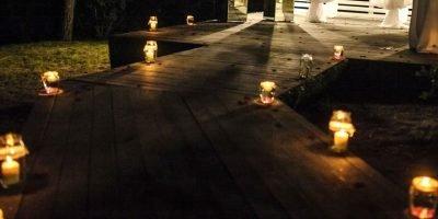 use lighting in the garden