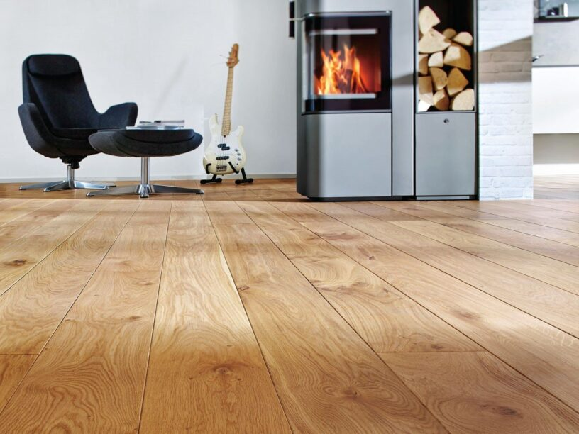 oil a wooden floor perfectly