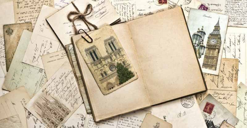 make a travel diary as a trip souvenir