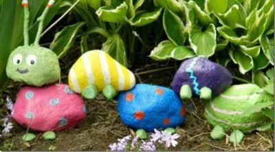 Easy rock craft projects for young children