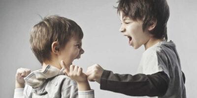 How to stop children fighting