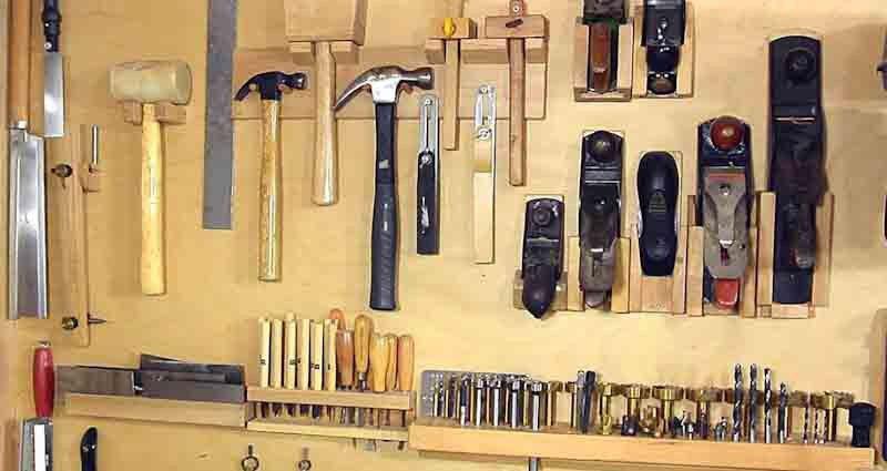 Make DIY tool holders