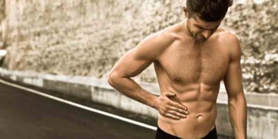 stop abdominal pain when running