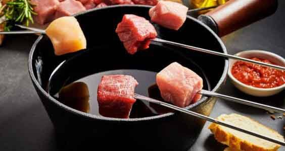 How to make meat fondue with oil - HOW TO DO EVERYTHING