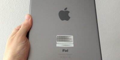 remove scratches from an iPad