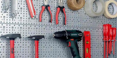 workshop tool wall system