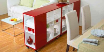 build a sideboard on wheels