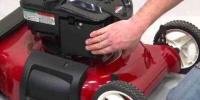 winter lawnmower care and maintenance