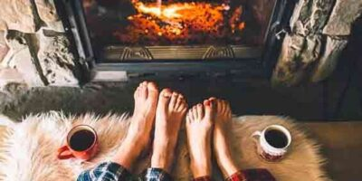 clean a fireplace easily
