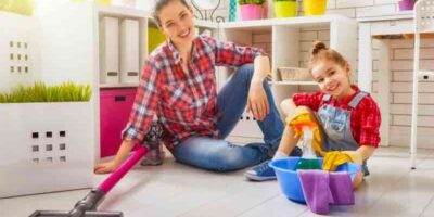 get children to help with housework