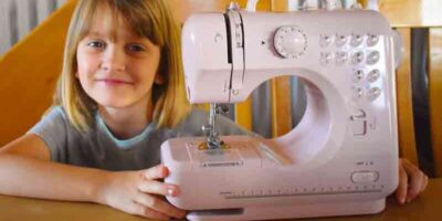 Teach a child to sew