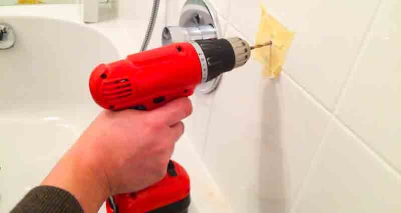 drill tiles