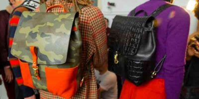 style a backpack with your wardrobe