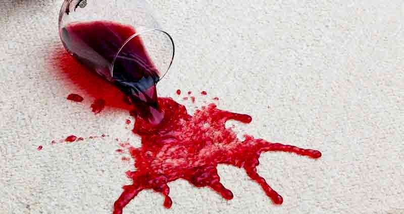 remove alcohol stains