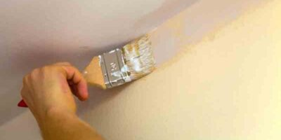 paint a ceiling easily