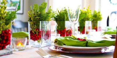 decorate a table