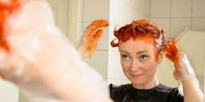 remove hair dye from skin