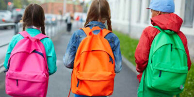 clean school satchels and backpacks