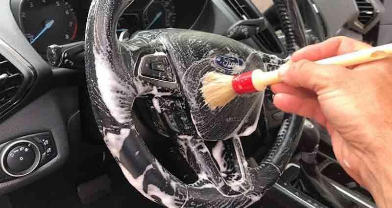 make a car interior look new again