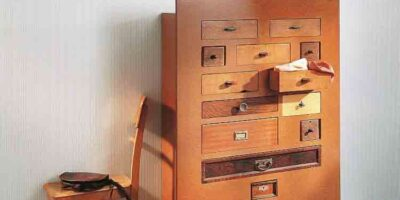 upcycle old drawers into a chest