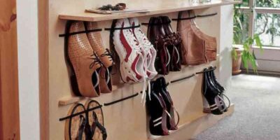 build a shoe rack