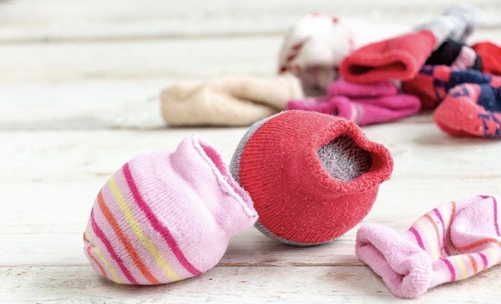 recycle old socks