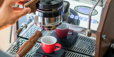 descale a coffee machine