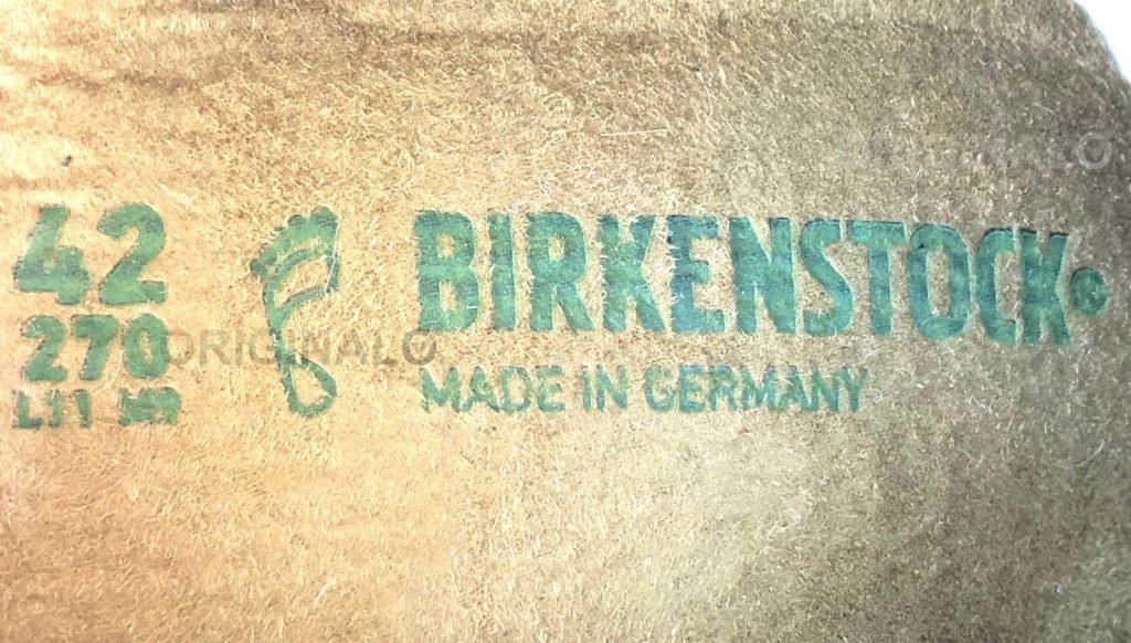 to tell fake vs genuine Birkenstock shoes