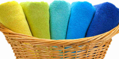 keep towels fluffy when you wash them