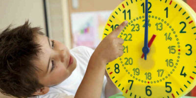 teach a child time management