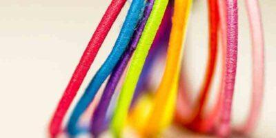 easy ways to make hair ties