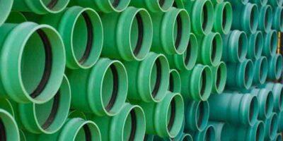 Lay sewage pipe