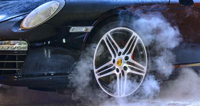 detect brake problems in a car