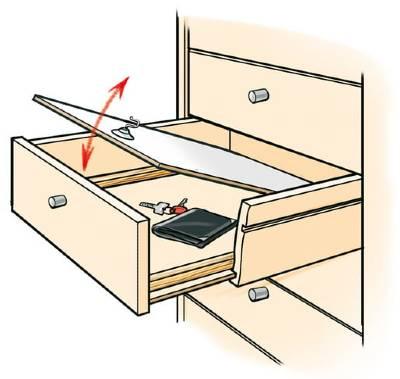 Make Secret Compartments In Furniture, Secret Compartment Furniture