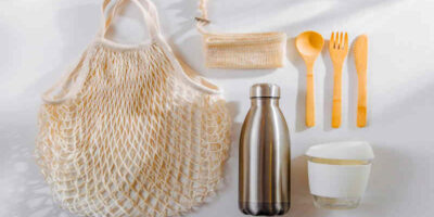 to reduce plastic waste at home