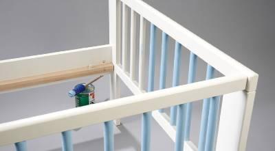 build a child's cot: adventure bed
