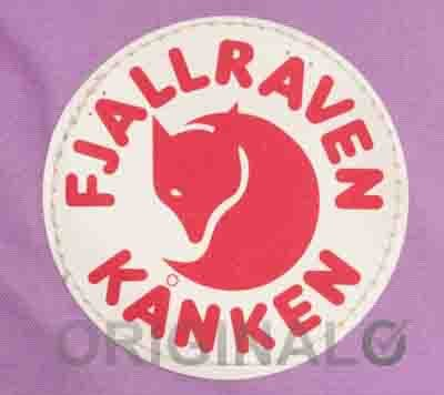 fake vs genuine Fjällräven K'nken backpack