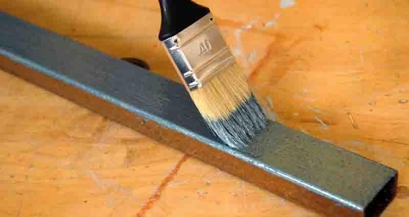 paint aluminium correctly