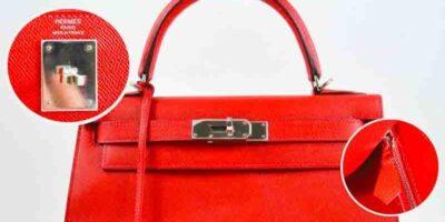 How to tell a fake vs genuine Hermes Birkin Bag