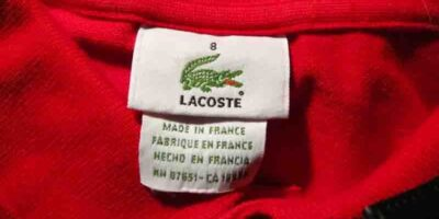 fake vs genuine Lacoste polo