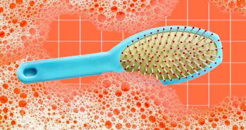 best ways to clean a hairbrush