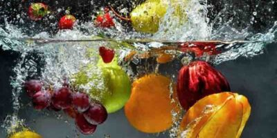 wash fruit and vegetables properly